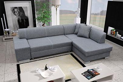 Corner Sofa Fabian with Bed function Corner Couch Sofa Couch Sofa bed