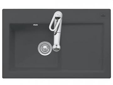 Villeroy Boch Subway 45 &Graphite Grey Kitchen Sinks Inset Ceramic Sink