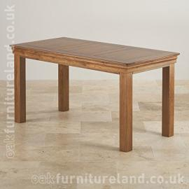 French Farmhouse Rustic Real Oak 5ft Dining Table