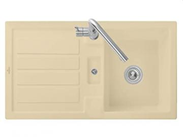 Villeroy & Boch Flavia 50 Sand Beige Edition Basin Kitchen Sink Ceramic Sink