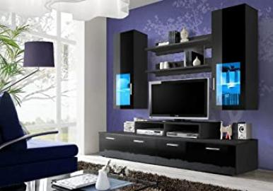 """ MINI NIGHT ""/ TV CABINETS / TV STANDS / WALL UNIT / TV CUPBOARD / LED's"