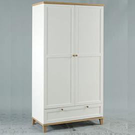 LPD Furniture Boston 2 Door Wardrobe with Drawer