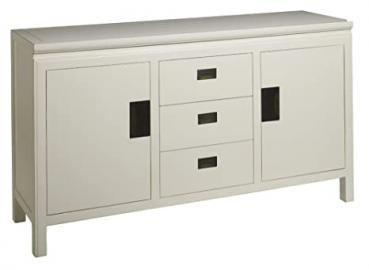 4 Living Oriental White Lacquer Sideboard Large Size:W 153 Depth 45 H 80cm