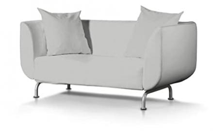 Dekoria Fire Retarding Ikea Stromstad 2-seater sofa cover - dove grey chenille