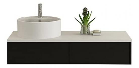 Bath furniture Biel black