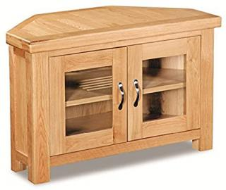 Harlyn Oak Corner TV Unit