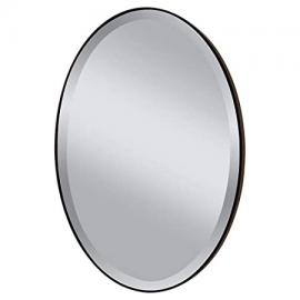 Feiss MR1126ORB Mirror, Oil Rubbed Bronze by Lumtopia