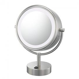 Kimball & Young Kimball And Young 72575 Double Sided Vanity Mirror, Brushed Nickel