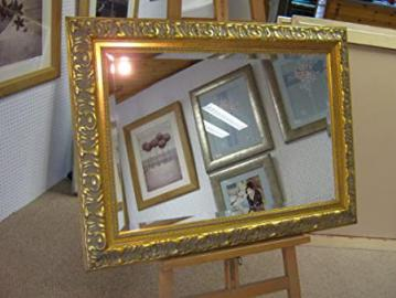 "New Very Large Ornate Gold Bevelled Wall and Overmantle mirrors - Various Sizes Available (54"" x 30"")"