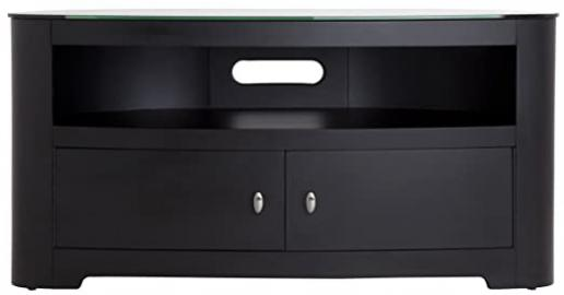 AVF Blenheim Satin Black TV Stand for up to 55 inch