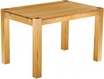 Kanto Brasilmöbel Rio Dining Table Solid Pine Wood Oiled and Waxed Honey (L / W/H): 120 x 80 x 78 CM