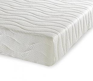Orthopaedic Latex Plus Mattress with Natural Talalay Latex - Double Size, 4'6 Ft (135 x 190 cm) - FIRM Comfort - Zip Off Cover - Total Thickness: 15 cm (with 2 cm upper layer of Natural Talalay Latex foam and 13 cm High Density Ortho Reflex Foam base)