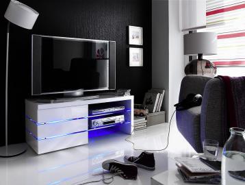 Sonia - white tv entertainment unit
