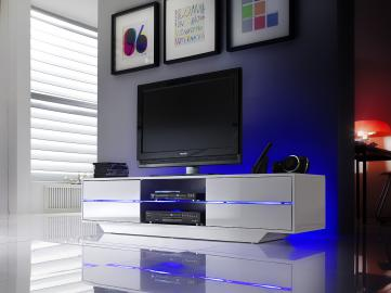 Blues - media stand with LED lights