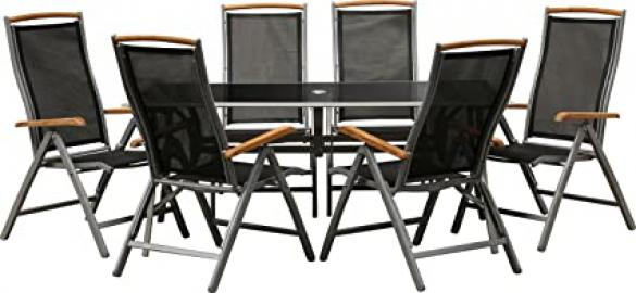 """IB-Style - Garden furniture """"Bologna"""" with folding chairs 
