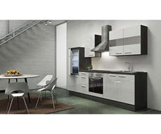 respekta appliances 270 CM Grey Oak Replica High-Gloss White