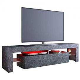 TV cabinet Lima Rock in Slate Grey