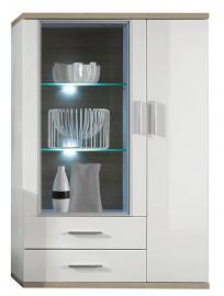 Furnline Living Room Cabinet, White