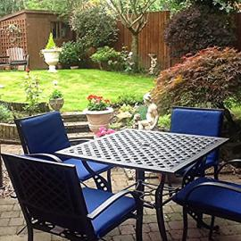 91cm Square Lucy Table and 4 Mary Chairs