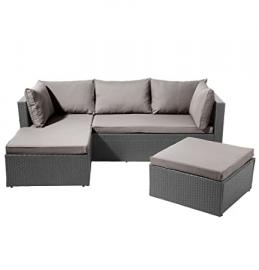 SSITG Poly Rattan Garden Furniture Garden Furniture Lounge Furniture Sofa Set