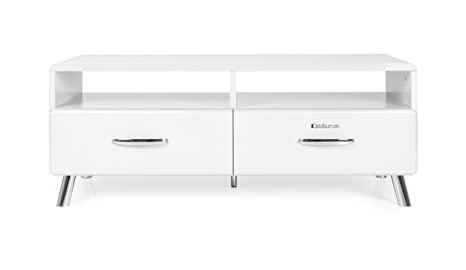 Tenzo COBRA Designer TV-Bench, 46 x 118 x 43 cm, White