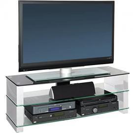 Peerless Manhattan 1200 White TV Stand