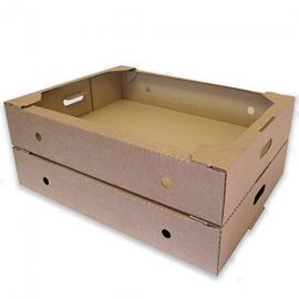"Pack of 350 Flower Produce Storage Trays ~ Cardboard Boxes - 25.5"" x 19.5"" x 5"" /648mm (L) x 495mm (W) x 128mm (H)"