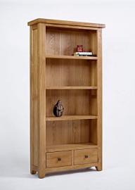 Ametis Devon Oak Large Bookcase BLAMI0473