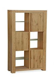 Global Home Products Collection 131 Display Cabinet, Wood, Brown