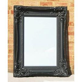 "Black Monte Carlo Mirror (3ft 6"" x 2ft 8"")"