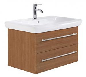 Bathroom Cabinet Keramag IT! 80 cm light oak satin