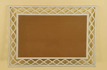 Wrought iron mirror TURIA Model