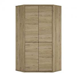 Furniture To Go Shetland 2-Door Cupboard, 98.5 x 197 x 40 cm, Oak
