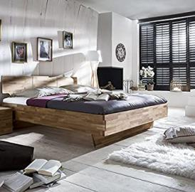 Solid Wood Cielo Mattress: 180cm x 200cm, Colour: Wild Oak Oiled