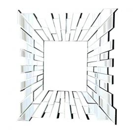 Abbyson Living London Square Wall Mirror, Small by Abbyson Living