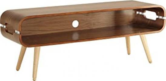 Jual Lounge JF702 Rectangular TV Stand for up to 55 inch TVs - Walnut
