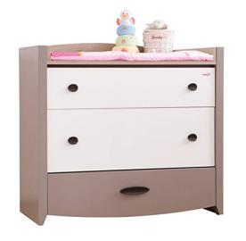 New Joy Pink Birdy Children Chest of Drawers, 90 x 96 x 65 cm
