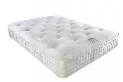 Antistatic Mattress Anti-Static Orthopaedic Mattress with Natural Bamboo Extracts for Comfort Sleep, White, Full