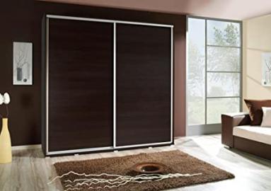 Brand New Modern Bedroom Sliding Wardrobe PENELOPA 205cm in Wenge sold by Arthauss