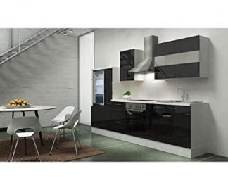 respekta appliances 300 CM White with APL White High-Gloss Black