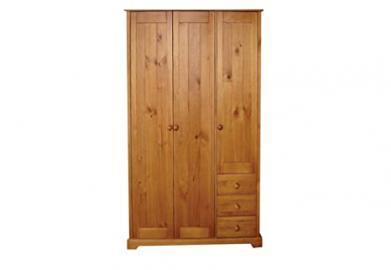LPD Baltic 3 Door + 3 Drawer Wardrobe