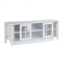 Wood TV Stand/ Media Console, White
