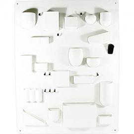 Vitra Uten.Silo I 20129001 Storage Board for Small Items ABS Plastic / Metal Hooks / 870 x 670 x 65 mm White