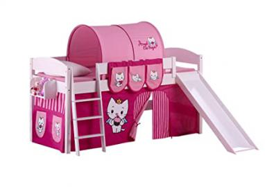 Lilo Kids Ida 4105KWR ACS Cot Wooden Angel Cat Sugar, 208 x 220 x 113 cm