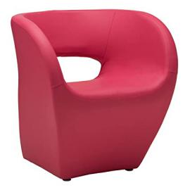 Protege Homeware Hot Pink Leather Effect Aldo Chair