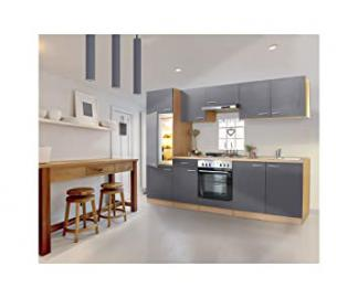 Respekta Kitchen Chef Blank Line Kitchen 270 Beech Grey Empty Block LBKB270BG