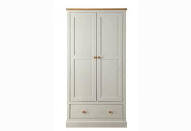 LPD St. Ives 2 Door + 1 Drawer Wardrobe