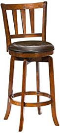 Presque Isle Swivel Counter Stool w Flared Legs (39 in. Counter Height)
