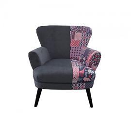 Patchwork/Grey armchair