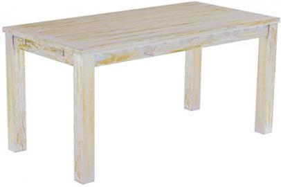 Brasil 'Rio' 180 x 80 cm Solid Pine Wood – Shabby Chic Furniture Dining Table Honey